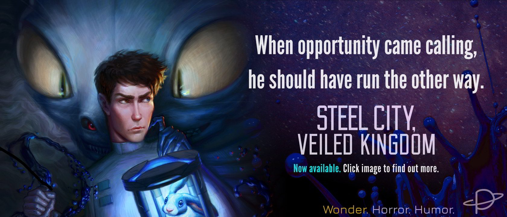 Click here to visit the STEEL CITY, VEILED KINGDOM information page.